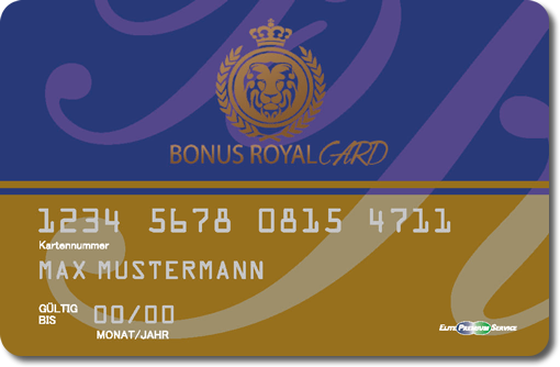 Bonus Royal Card
